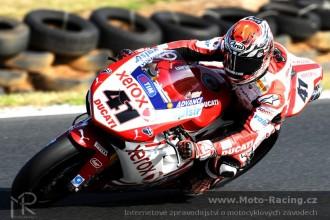 Ducati Xerox před Portimaem 2010