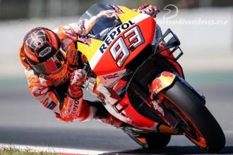 Marquez třetí, Lorenzo opět havaroval