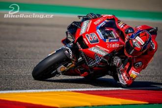 U Ducati se lépe kvalifikoval Petrucci