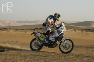 Rally Dakar 2010  5. etapa