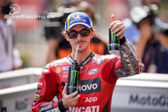 Bagnaia: Dovi Ducati skutečně pomohl