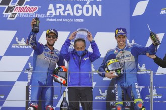 Suzuki: vítězství a vedení šampionátu