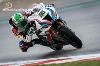 Sykes a Laverty před Magny Cours