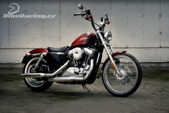 HD Sportster Seventy-Two a Softail Slim