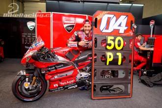 Dovizioso zajistil Ducati 50. vítězství