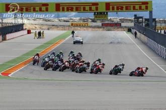 WSBK Motorland Aragon - neděle