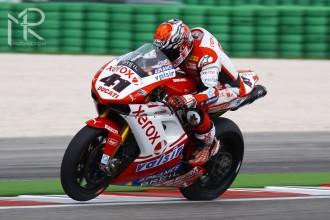 Živý přenos z boxu Ducati