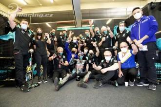 Morbidelli získal v Jerez pódium