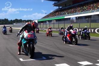 Startovní listina pro MotoGP Virtual Race2