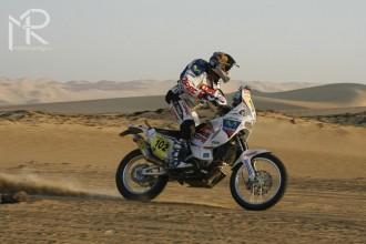 Rally Dakar 2010  8. etapa