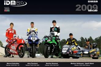 Kalendář závodů IDM 2010