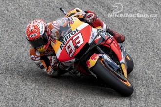 Marquez zatím v Německu nejrychlejší