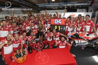 Perfektní den pro Ducati