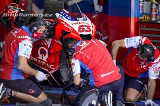 Černý den pro Pramac Racing