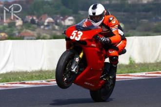 Miro Sloboda poprvé na Ducati