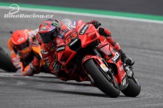 Bagnaia vybojoval pro Ducati pódium