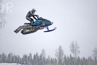 ME ve snowcrossu  Savonlinna (FIN)