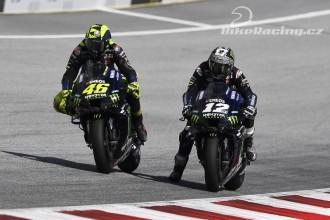 Rossi a Vinales před GP Štýrska