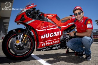 Danilo Petrucci pokračuje u Ducati