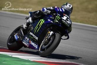 Vinales nejrychlejší, Rossi čtrnáctý