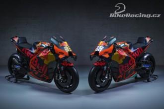 Prezentace KTM MotoGP 2021