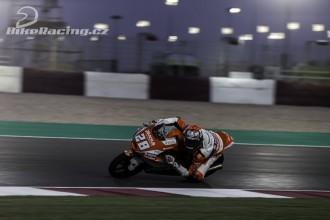 IRTA test Moto2, Moto3 Katar – neděle