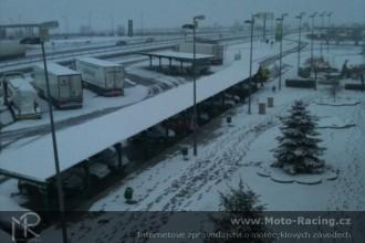 Testy BSB zrušil sníh