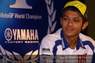 Valentino Rossi unikl zranění