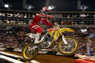 Suzuki k supercrossovému závodu v Anaheimu