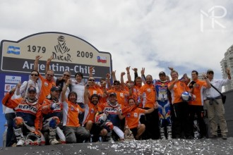 KTM již nepojede Dakar