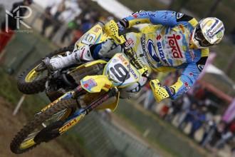 Před Suzuki první závod MX GP v Lotyšsku