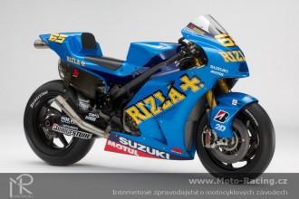 Představení zbarvení nové Suzuki GSV-R