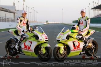První fotka týmu Pramac Racing 2010