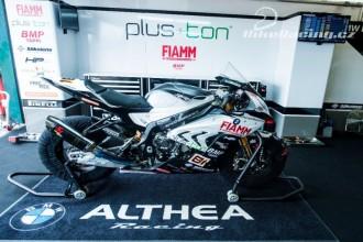 Althea před závody v Německu