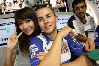 Lorenzo si užívá dovolenou v Thajsku