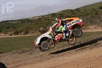 Marc Coma testoval na Dakar