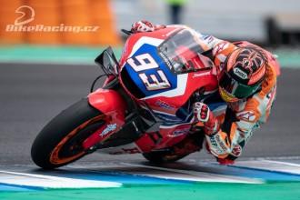 Marquez si vyzkoušel novou motorku