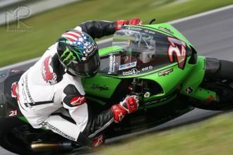 Jezdci Kawasaki pokračovali v práci