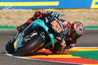 Quartararo odstartuje z pole position