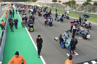 FIM Junior Moto3 – startovní listina