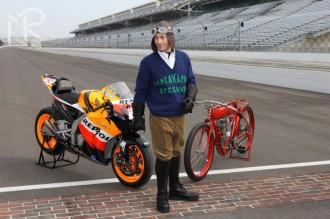 Nicky Hayden otevřel nový okruh Indianapolis