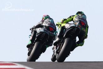 Morbidelli a Rossi před Jerezem