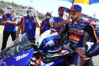 Oba jezdci Tech3 v GP Andalusie na zemi