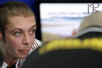 Dořezaný Rossi třetím nejrychlejším