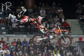 Freestyle motocross race Brno 2010