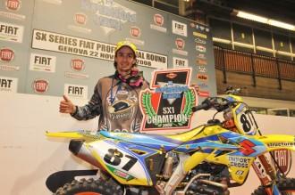 Fabien Izoird supercrossovým králem Evropy