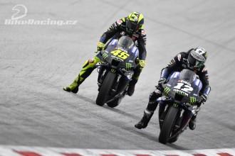 Rossi devátý, Vinales seskočil z motocyklu