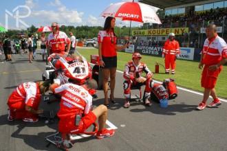 Haga i Fabrizio zůstávají u Ducati