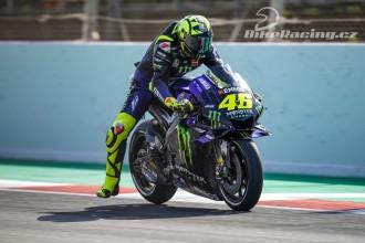 Rossi a Vinales chtějí bojovat o podium
