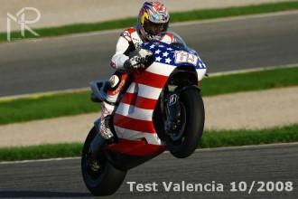 Fotogalerie z testů ve Valencii